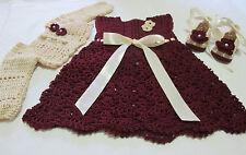 Vestito Neonata Uncinetto Acquisti Online Su Ebay
