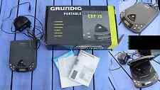 Lecteur de dvd portable Grundig CDP-75 des environs de 1995, complet, fonctionne
