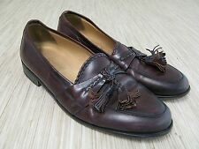 Johnston & Murphy Cellini Tassel Leather Loafers Men's Size 8 M Dress Shoes