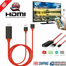 1080 HDMI Phone to TV Cable Adapter Converter Fit For iPhone/ iPad/ Android US