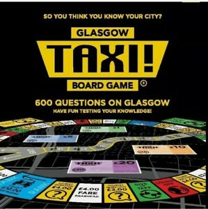 Taxi Board Game Glasgow 2018 Release