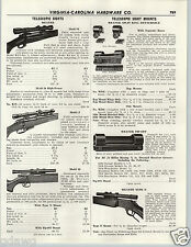 1956 PAPER AD Weaver Gun Rifle Telescope Scope Sight Model K J B Specs