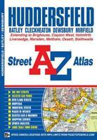 Huddersfield Street Atlas by Geographers A-Z Map Company, NEW Book, (Paperback)