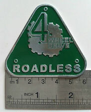 Land Rover Series 1 2 A CLUB BADGE VINTAGE CLASSIC PARTS FOR SALE FUNNY 2a 4 X 4