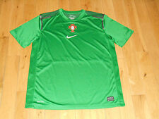 Nike Authentic PORTUGAL NATIONAL TEAM Soccer Practice Jersey Kit Mens Large