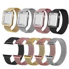 Für AppleWatch Uhrenarmband 38/40/42/44MM Edelstahl Magnet iWatch Series12/3/4/5