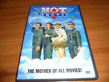 Hot Shots! (DVD,Widescreen 2002) Charlie Sheen Used Lloyd Bridges