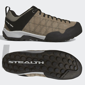 adidas Five Ten Guide Tennie Mens Climbing Shoes Trainers Brown SIZE 7 8 9 10