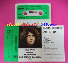 MC EUMIR DEODATO Artistry 1974 italy MCA 30 MAPS 7661 no cd lp dvd vhs