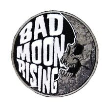 """Freaky Patch """"Bad Moon Rising"""" Kreepsville Scare Craft Apparel Iron-On Applique"""
