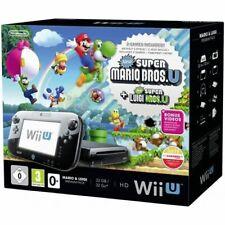 RARE Pack Console Nintendo Wii U • Super Mario Bros + Luigi • NEUVE brand new