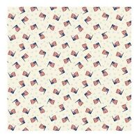 Mary Fons Americana Flag 100% cotton fabric by the yard