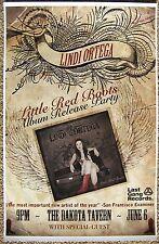 LINDI ORTEGA  2011 Gig POSTER Toronto Canada Little Red Boots Concert
