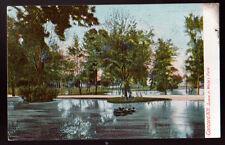 1906 CONCORD NEW HAMPSHIRE NH Scene in White's Park  Old Postcard PC