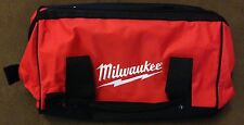 "New Milwaukee M12 M18 16"" x 10"" x 12"" Contractors Tool Bag with 6 Inside Pockets"