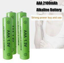 4pcs New Brand Alkaline AAA rechargeable battery 2100 mAh 1.5V Toy Telephone