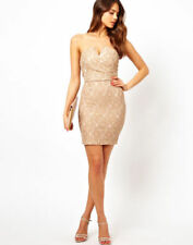 Party Floral Dresses for Women with Strapless/Bandeau