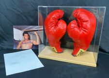 *Muhammad Ali* Autographed Everlast Boxing Gloves 1997 With Notarized COA & Case
