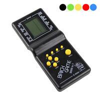 Classic Nostalgic Tetris Brick Handheld LCD Video Games Toy Machine Arcade BE
