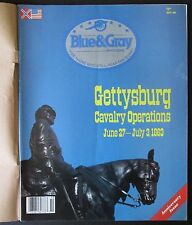 Blue & Gray Magazine Oct 1988 Gettysburg Cavalry Operations Jeb Stuart, Dahlgren
