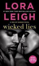 Wicked Lies: A Men of Summer Novel Leigh, Lora Mass Market Paperback