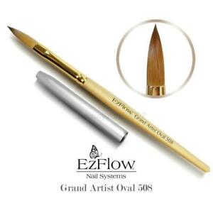 EzFlow Grand Artist 508 Acrylic Nail Brush - Oval Nail Art