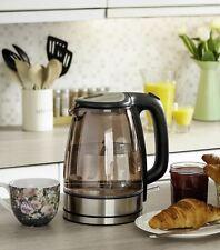 Sensio Home Electric Cordless Copper Glass Kettle 1.7L - 3kW Rapid Boil