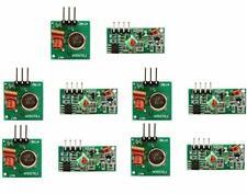 Dollatek 5pcs 433mhz Rf Wireless Transmitter And Receiver Module Kit For Ardu