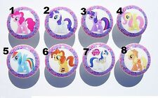 1 (ONE)  NEW STYLE MY LITTLE PONY KID GIRL DRESSER DRAWER  KNOBS MADE AS ORDERED