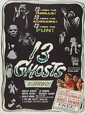 13 Ghosts 1960 Movie High Quality Metal Magnet 3 x 4 inches 9205