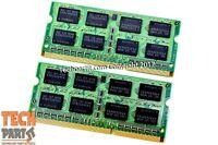 8GB DDR3 Memory For MacBook Pro iMac Mac Mini 1066 MHZ PC3 8500 2X4GB SODIMM