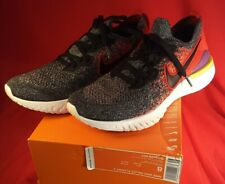 Mens Nike Epic React Flyknit 2 Black Hyper Jade Mens BQ8928 007 Sz 8