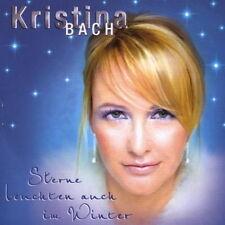 CD Album Kristina Bach Sterne leuchten auch im Winter 2007 Sony BMG