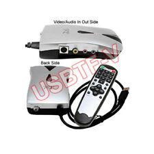 Extenanl USB Analog NTSC Cable TV Tuner DVR Adapter