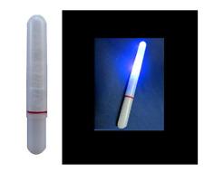 starlight led blu + batteria elettronico galleggiante pesca luce galleggianti