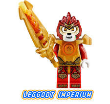 LEGO Laval Fire Chi - Legends of Chima Minifigure - dim012 FREE POST