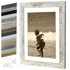 Picture Frame Ayleen Wood MDF Photo Poster Frame Size Choose Colour Timeless