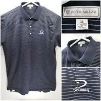 Peter Millar Mens XL Golf Shirt Polo Trump Doonbeg Ireland