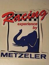2 Stück METZELER Aufkleber 18 cm x 19 cm  MX, Cross, Enduro Classic Vintage,