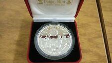 1997 $25 Republic of Liberiia 999 Silver Rare Pobjoy Krause