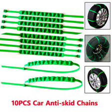 10PCS Anti-Skid Car Wheel Tire Chain Emergency Zip Tie Belt Strap Snow Muddy