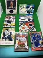 8 Card Lot - NHL Autograph Cards And Jersey Cards UD Exclusives Die Cut #/25