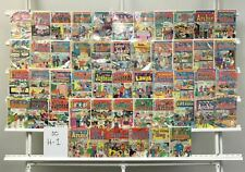 Vintage Archie Archie 50 Lot Comic Book Comics Set Run Collection Box