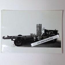 ✇ Originalfoto 1936 KRUPP LKW mit HOLZGAS - ANLAGE Messeaufnahme very rare