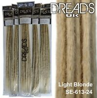 Dreadlock Extensions | Handmade by Dreads UK Crochet Natural Colours