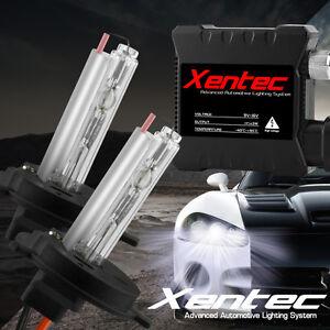 XENTEC Xenon Light 35W SLIM HID KIT 6K 6000K Diamond White H4 H7 H11 9006