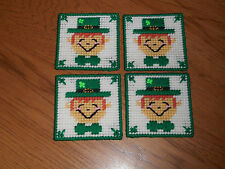 LEPRACHAUN BOY COASTER SET 4  (NEW)