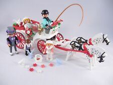 PLAYMOBIL VINTAGE 5601 VICTORIAN WEDDING CARRIAGE DOLLHOUSE MANSION 5300-NOTE