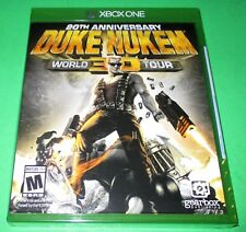 Duke Nukem 3D: 20th Anniversary World Tour Xbox One *Factory Sealed! *Free Ship!