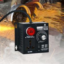 Ac 110v 4000w Scr Variable Voltage Regulator Speed Motor Fan Dimmer Controller